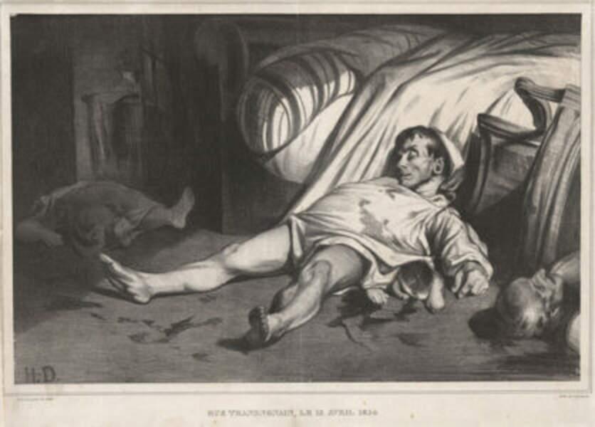 14 avril 1834 : l'armée tue douze civils rue Transnonain