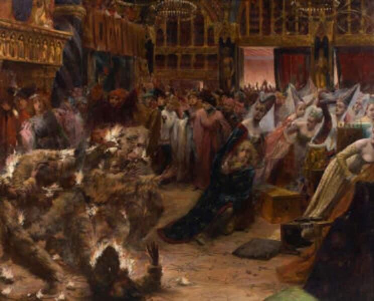 28 janvier 1393 : bal tragique à la Reine Blanche