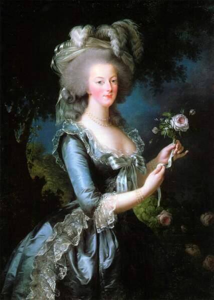 Il promet sa main à Marie-Antoinette