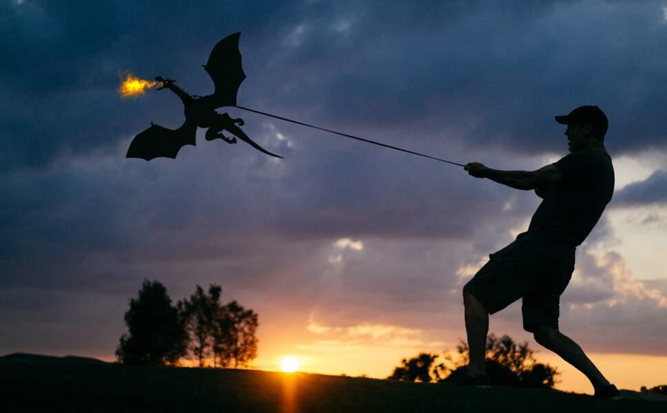 John Marshall qui promène son dragon