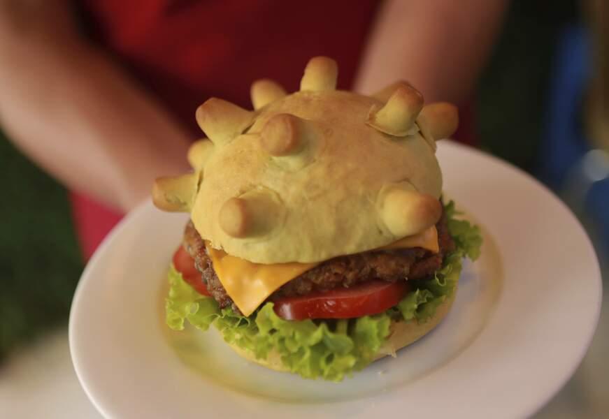 """Au Vietnam, le """"Burger Corona"""" vient d'être rajouté à la carte"""