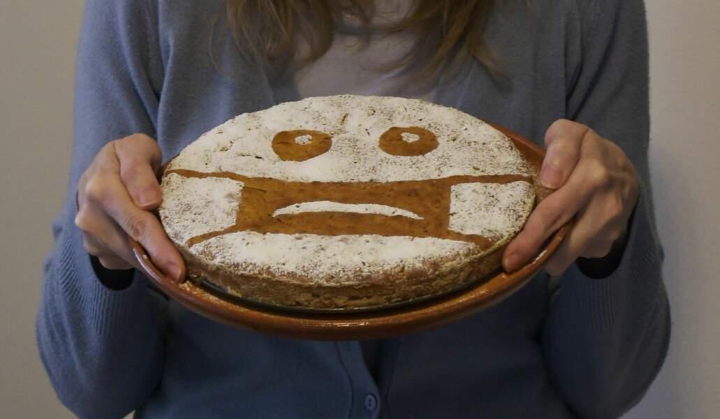 À Milan, un grand gâteau fait maison, pour les soignants