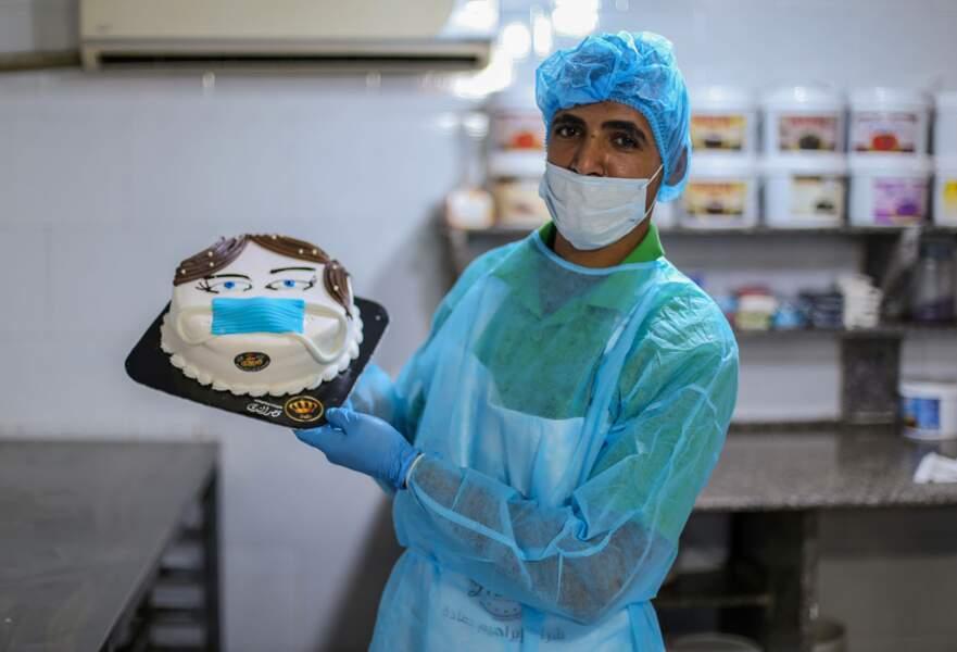 Pâtissier-infirmier, même tenue