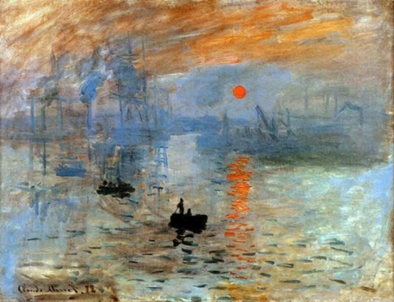"""""""Impression, soleil levant"""" de Monet est trop moderne."""