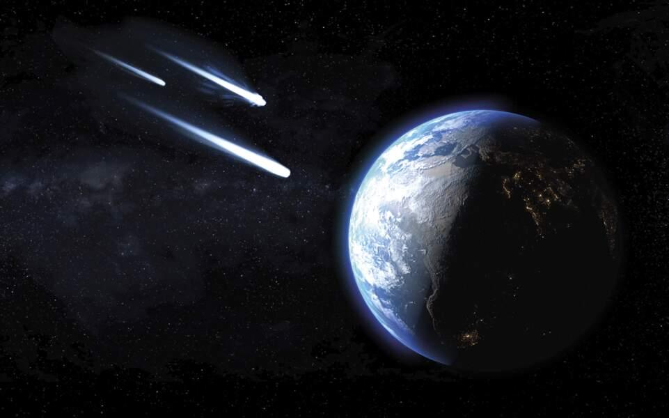 Une comète peut s'écraser sur Terre