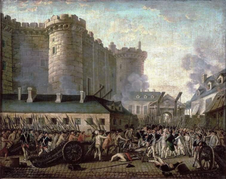 3/ Le 14 juillet 1789 marque le début de la révolution