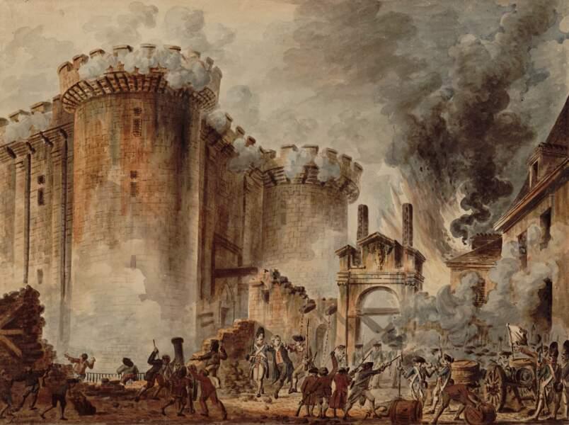 La prise de la Bastille, haut fait de la Révolution