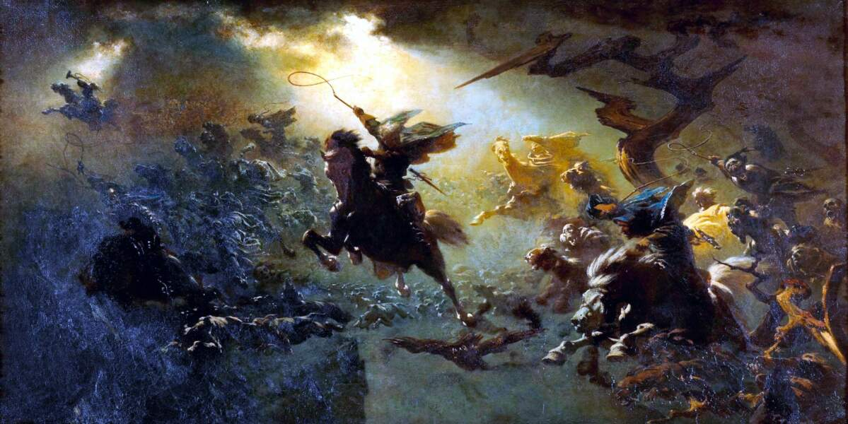 La Mesnie Hellequin chasse sans fin