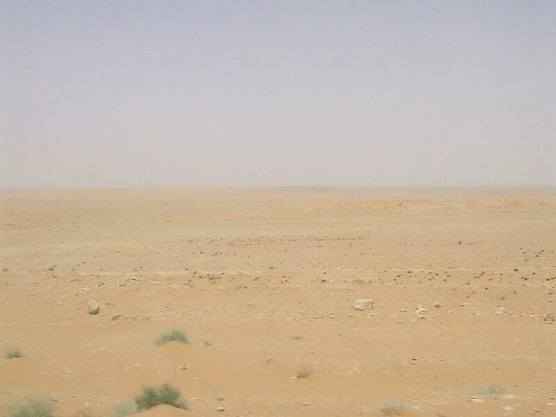 Désert de Syrie- 520 000 km²