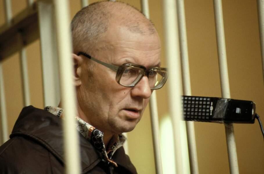 Tchikatilo lors de son procès en 1992