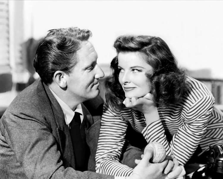 Spencer Tracy et Katharine Hepburn : unis dans l'ombre des projecteurs