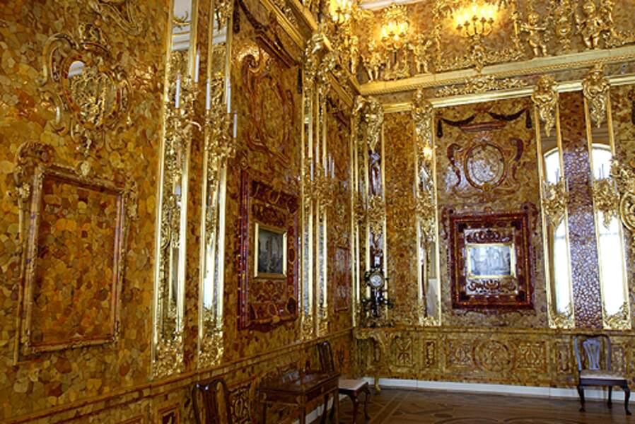 La chambre d'ambre (Russie)