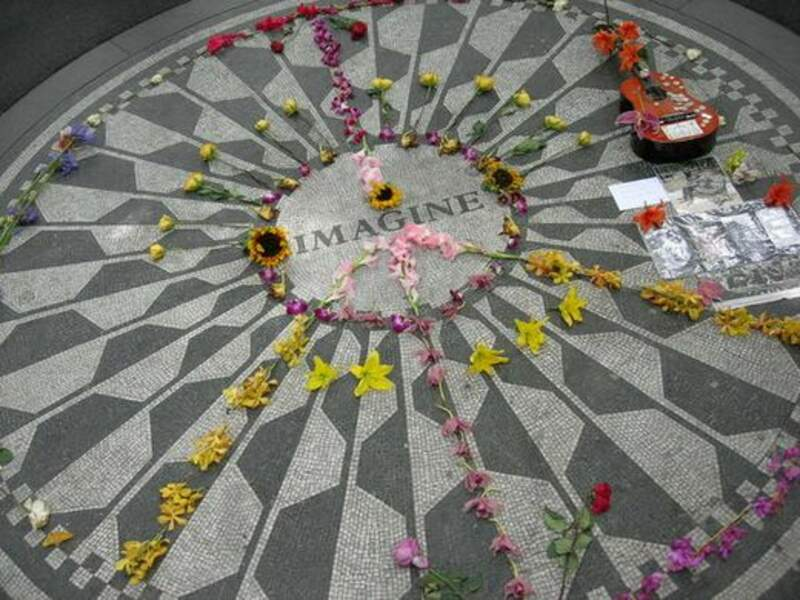 La tombe de John Lennon (New York)