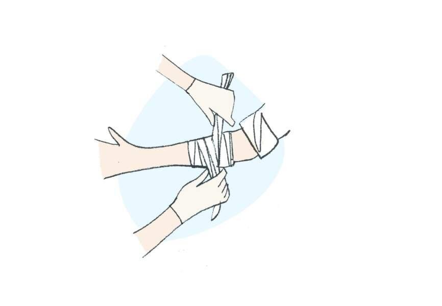 Encas d'hémorragie : le tampon relais