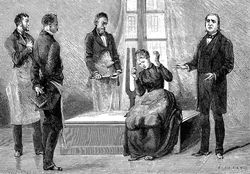 Il est hypnotisé par le travail du professeur Charcot