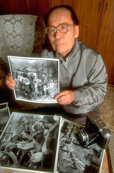 La première photo prise juste après Hiroshima
