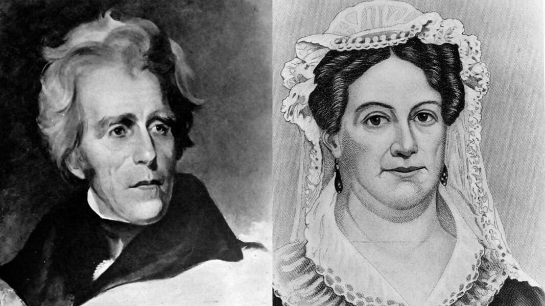 1828 : Andrew Jackson et son épouse font scandale