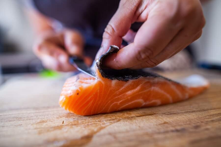 L'unique saumon de France