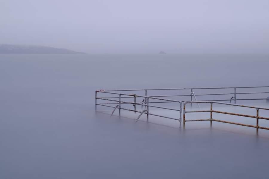 Le calme (avant la tempête ?) dans le Devon, un comté du sud-ouest de l'Angleterre
