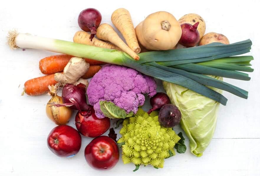 6. Respecter la saisonnalité des fruits et des légumes