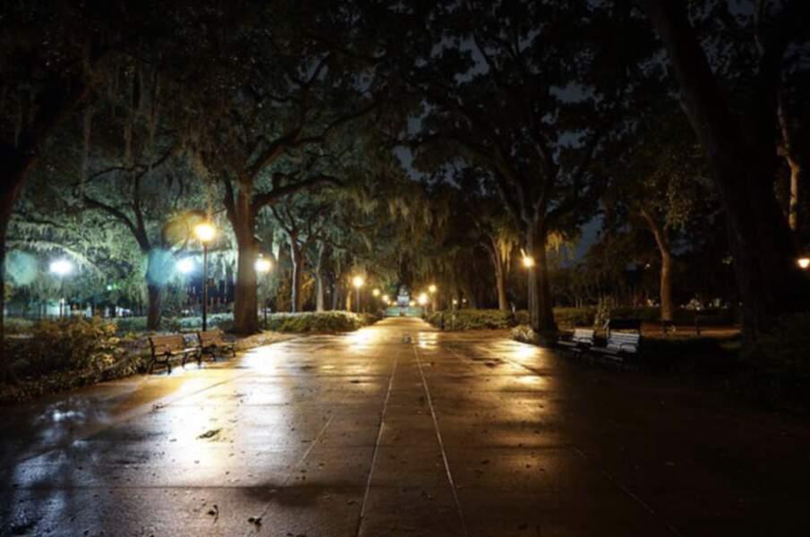 La ville hantée de Savannah