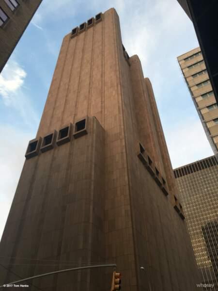 L'immeuble mystérieux de Manhattan
