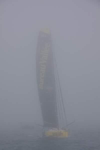 Le départ de l'édition 2020 a été retardé à cause du brouillard