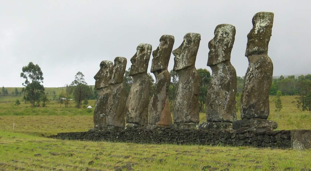 Ces polynésiens qui ont découvert l'île de pâques