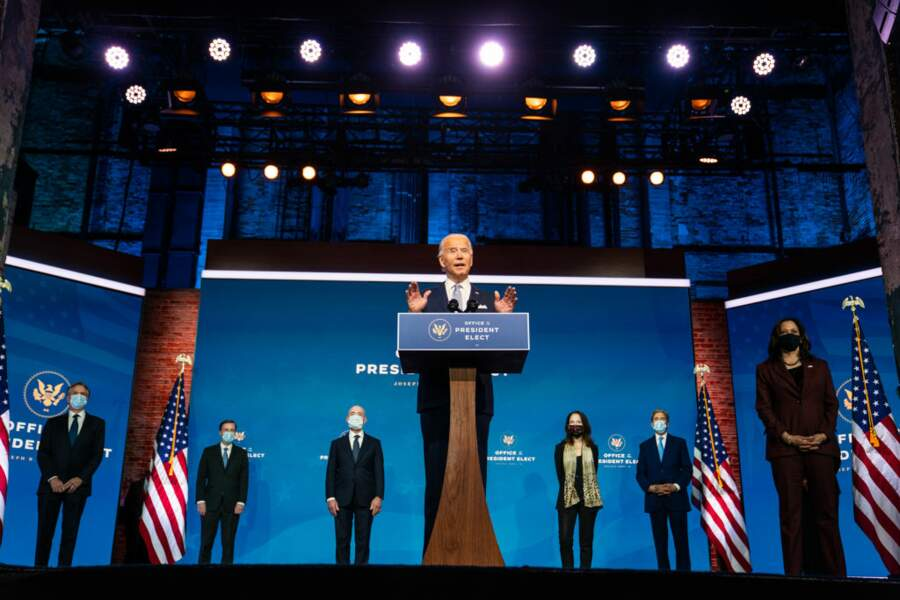 20 Janvier 2021: Joe Biden investi président des Etats-Unis