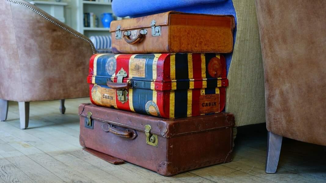 Une valise pour voyager