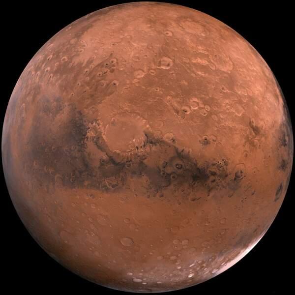 Découverte de lueur verte sur Mars