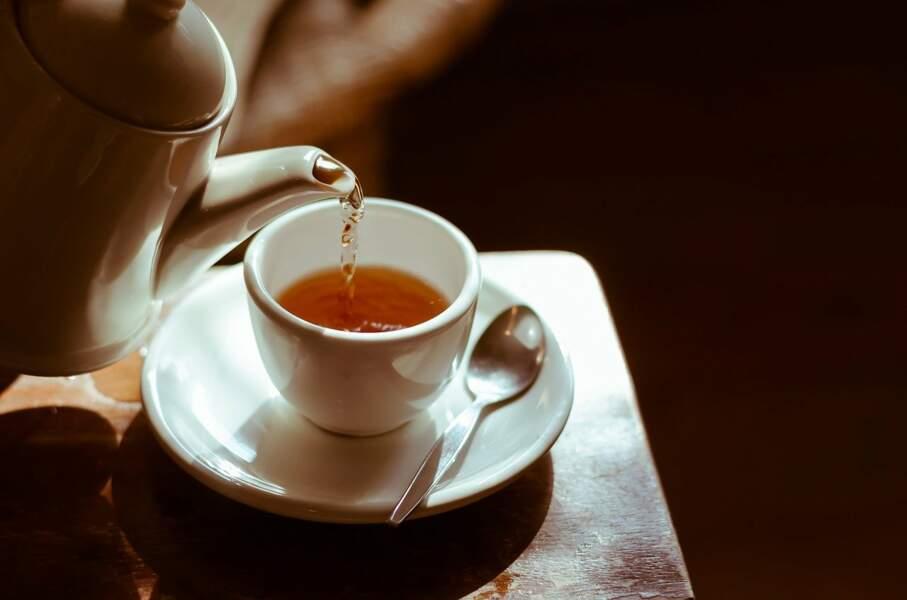 7. Buvez du thé vert