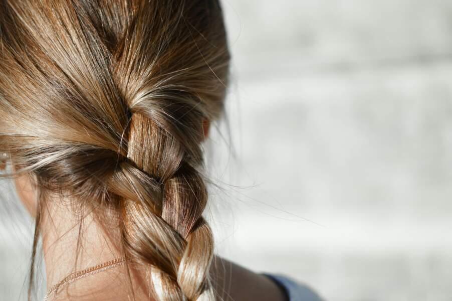 Tresser les cheveux longs