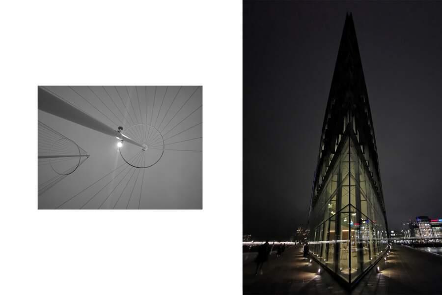 Le Circle Bridge et la cité de l'Onu