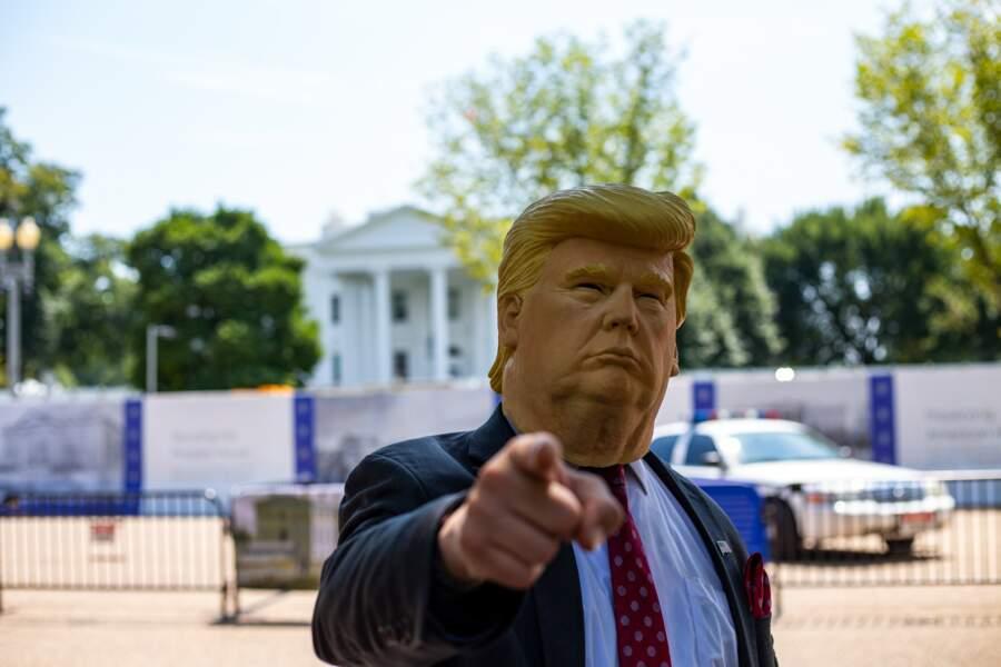 Que Donald Trump est décidément un grand grand malade