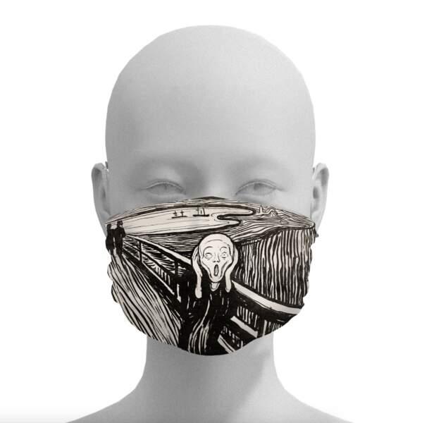Le masque criard