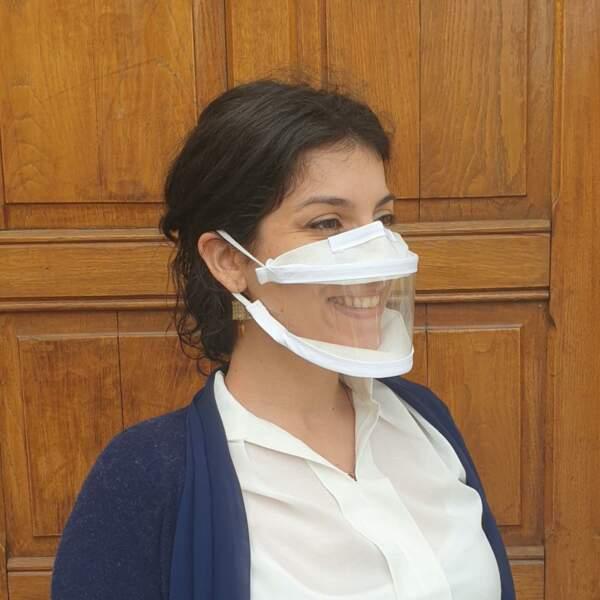 Un masque pour lire sur les lèvres