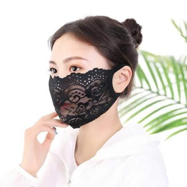 Le masque dentelle
