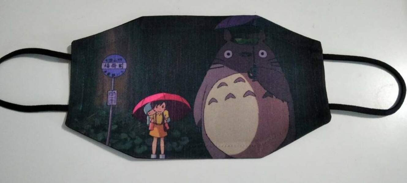 Le masque Totoro