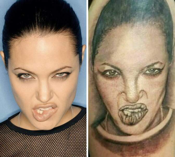Angelina (beaucoup moins) Jolie