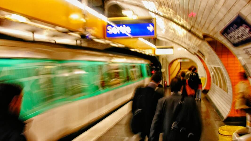 Filmer dans le métro ? C'est interdit !