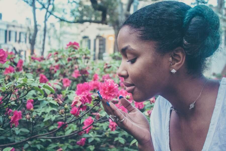 Si vous sentez une odeur, vous la visualisez