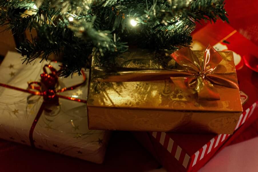 Préparer les cadeaux de Noël