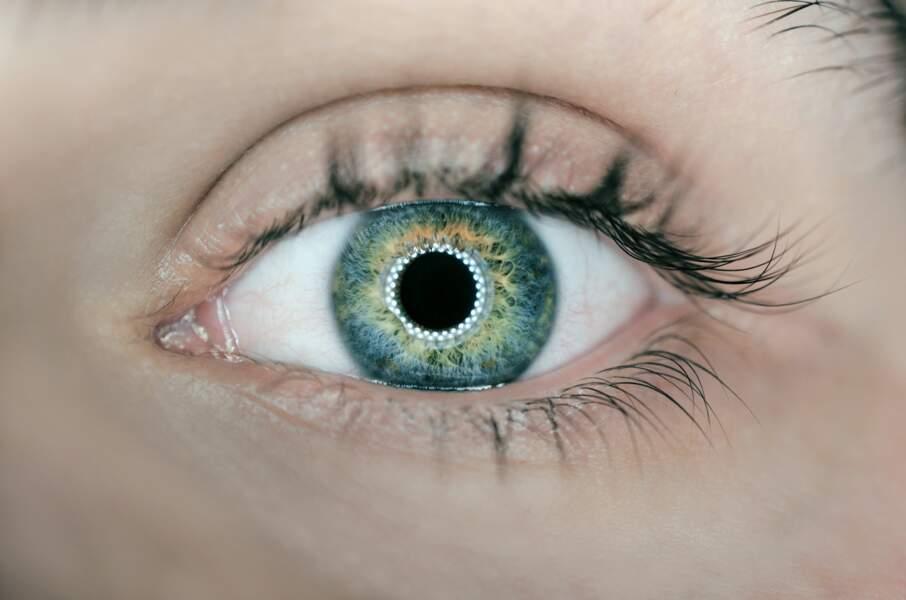 Les pupilles se dilatent