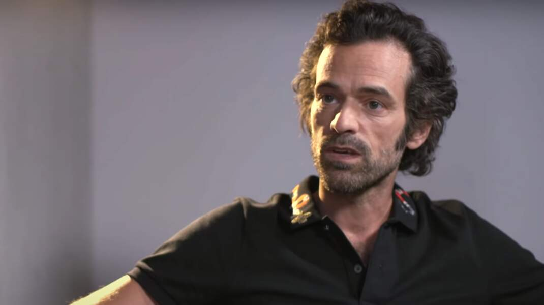 22. Romain Duris dessine