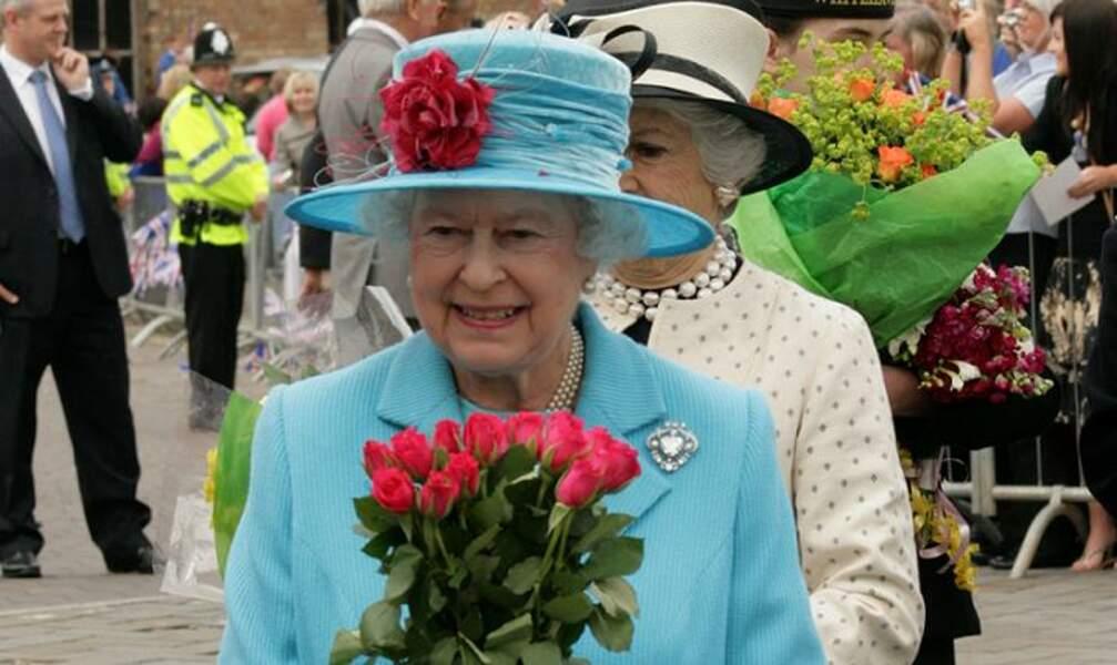13. Élisabeth II, reine d'Angleterre et reine des mimes
