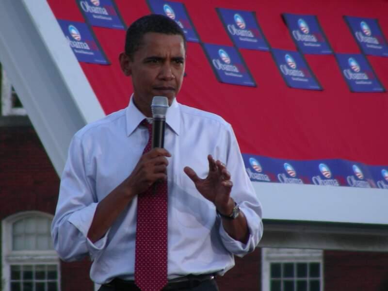 3. Barack Obama adore chanter