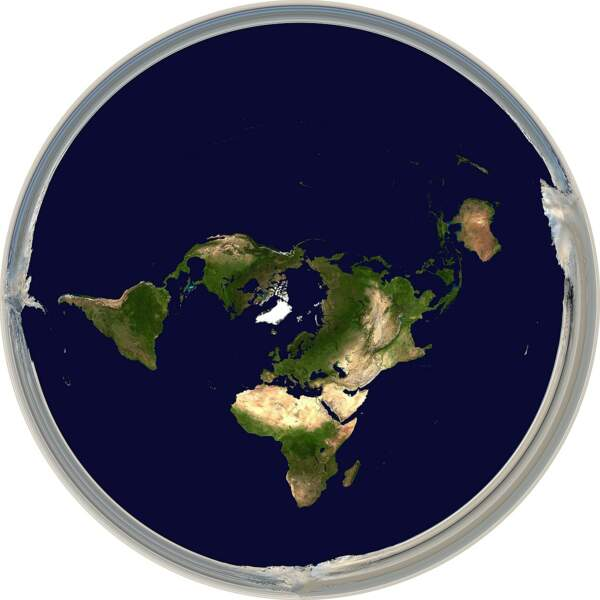 La Terre est plate