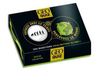GEO QUIZ EDITION COLLECTOR 35 ANS GEO - 17.50€