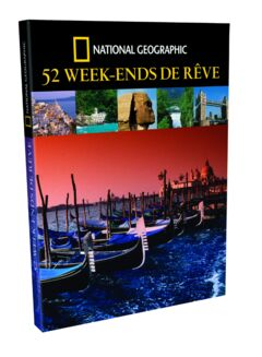 Livre 52 Week-ends de rêve - 25.90€
